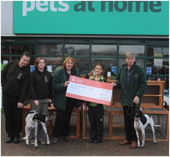 Thank You Pets at Home Northampton