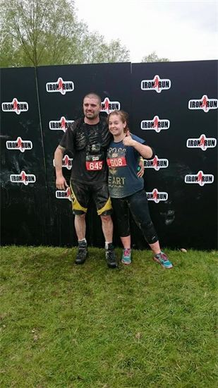 Rob and Zoe Compete in the IRON RUN