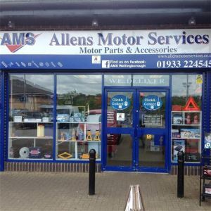 Allens Motor Services - Kind Donators of the Wellidog Van