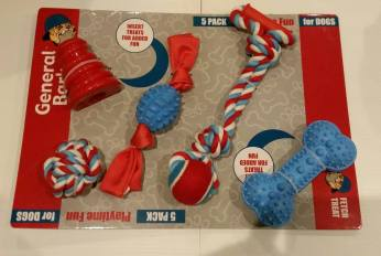5 Pack Play Time Fun for Dogs Starting Bid- £2