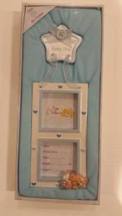 Baby Boy Picture Frame. Starting Bid- £1