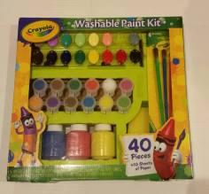 Crayola Washable Paint Kit (Brand New) Starting Bid- £2