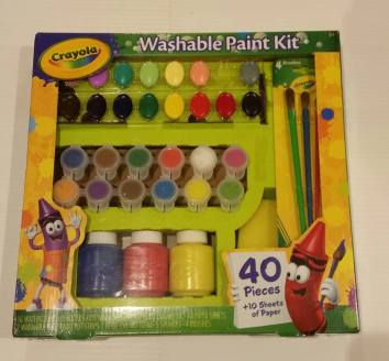 Crayola Washable Paint Kit (Brand New) Starting Bid- £2