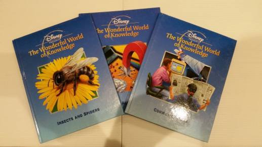 17 Disney Wonderful World Of Knowledge Childrens Books Starting Bid- £2